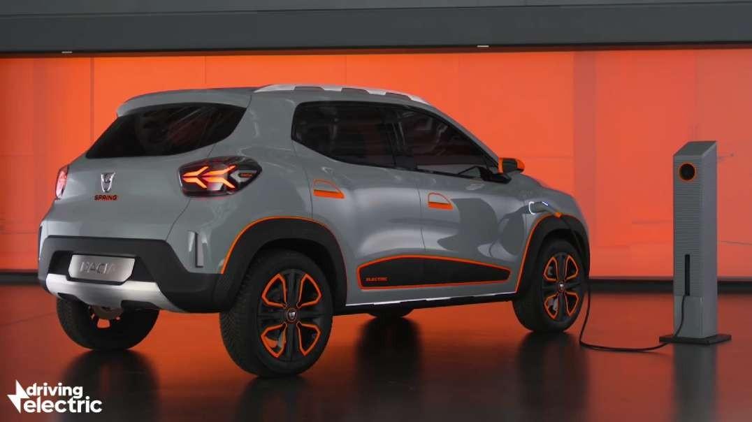 Dacia Spring Electric car concept first look